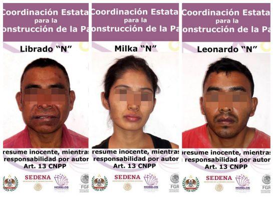 Detienen a tres por el asesinato del hermano del ex gobernador de Morelos