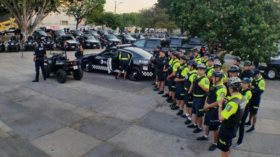 Entregan nuevas patrullas a la policía de Guadalajara