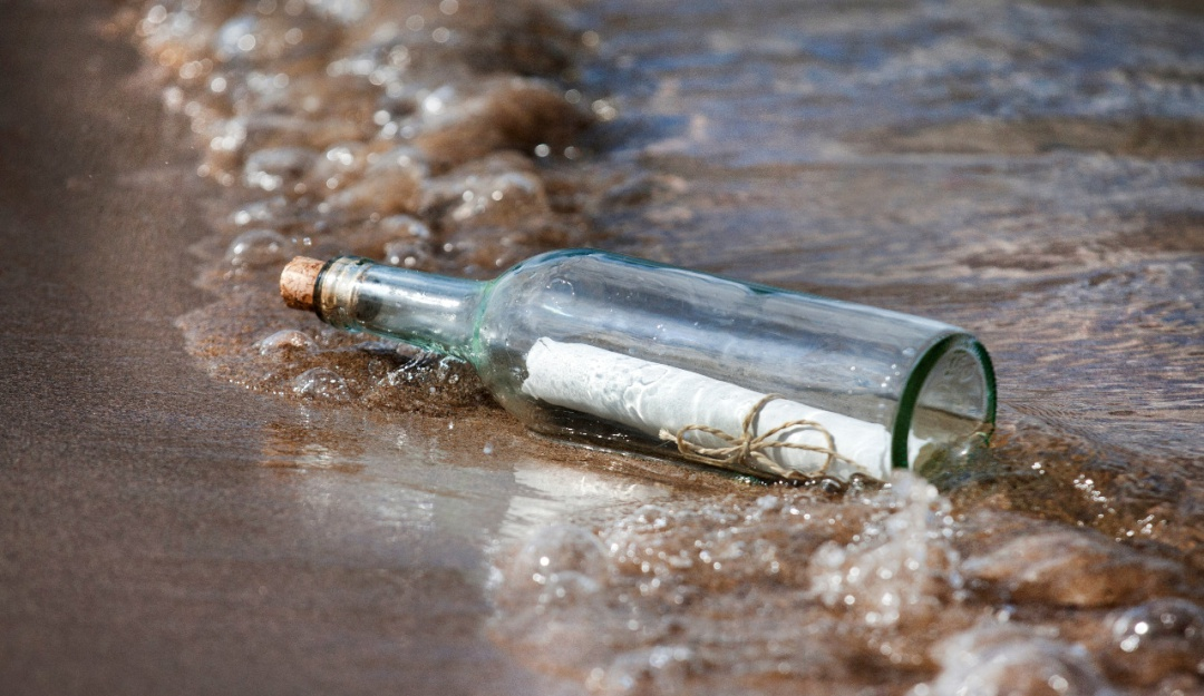 Hallan botella con mensaje en isla japonesa y podría ser de México