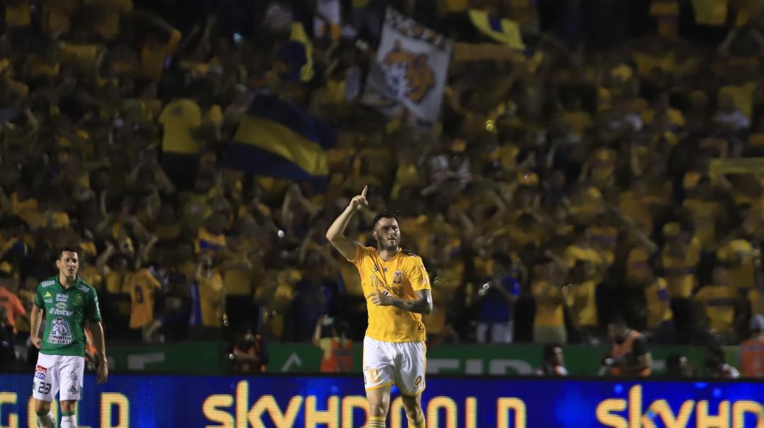 Tigres ganó en la ida del futbol mexicano