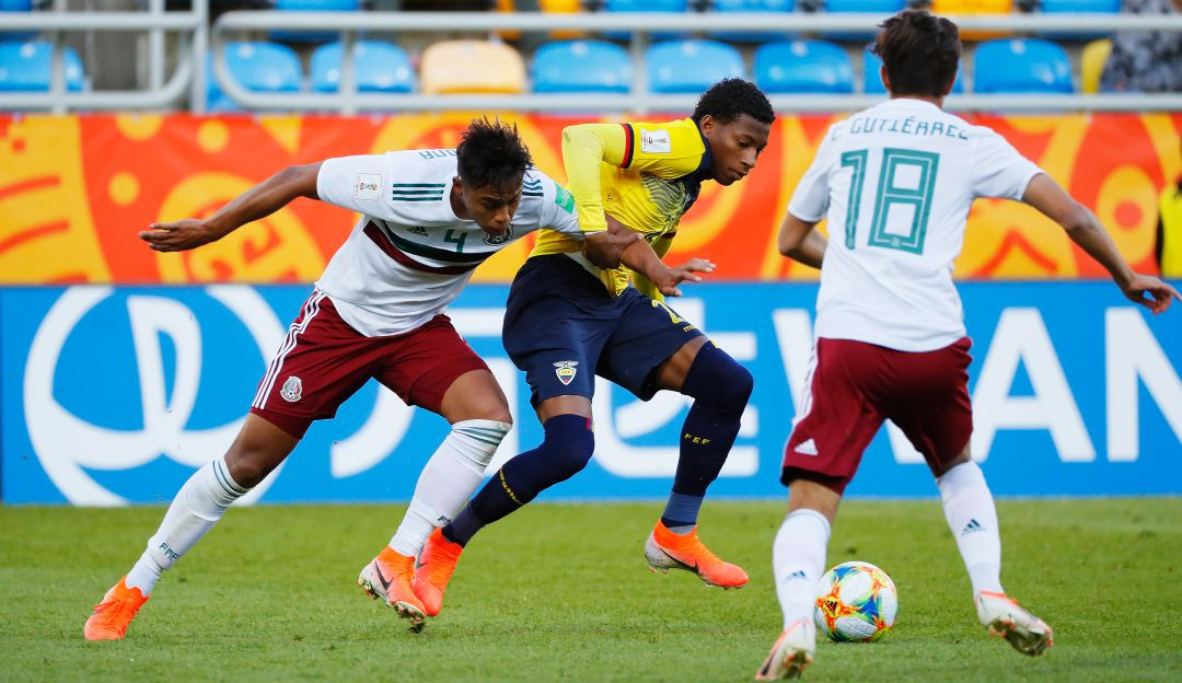 México cayó ante Ecuador