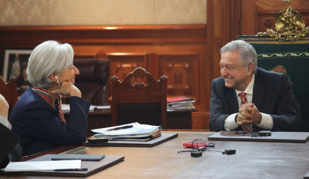 Felicita Lagarde a AMLO por políticas fiscales