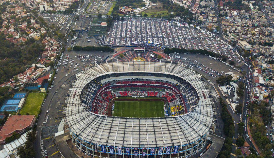 Estadio Azteca.