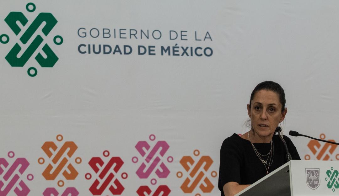 Sheinbaum anuncia plan de 3 años para rehabilitar vías primarias de la CDMX