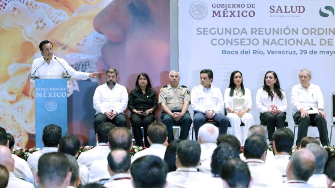 Veracruz da la bienvenida al Consejo Nacional de Salud