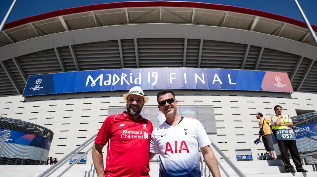Tottenham y Liverpool se disputan hoy por W Radio la Champions League