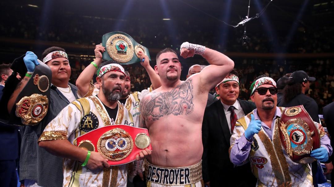 Andy Ruiz, el mexicano que sorprendió al mundo del Boxeo