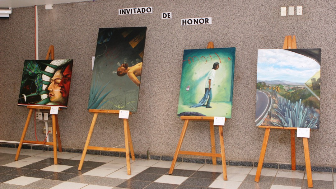 """Exposición de pintura """"Wallace"""""""