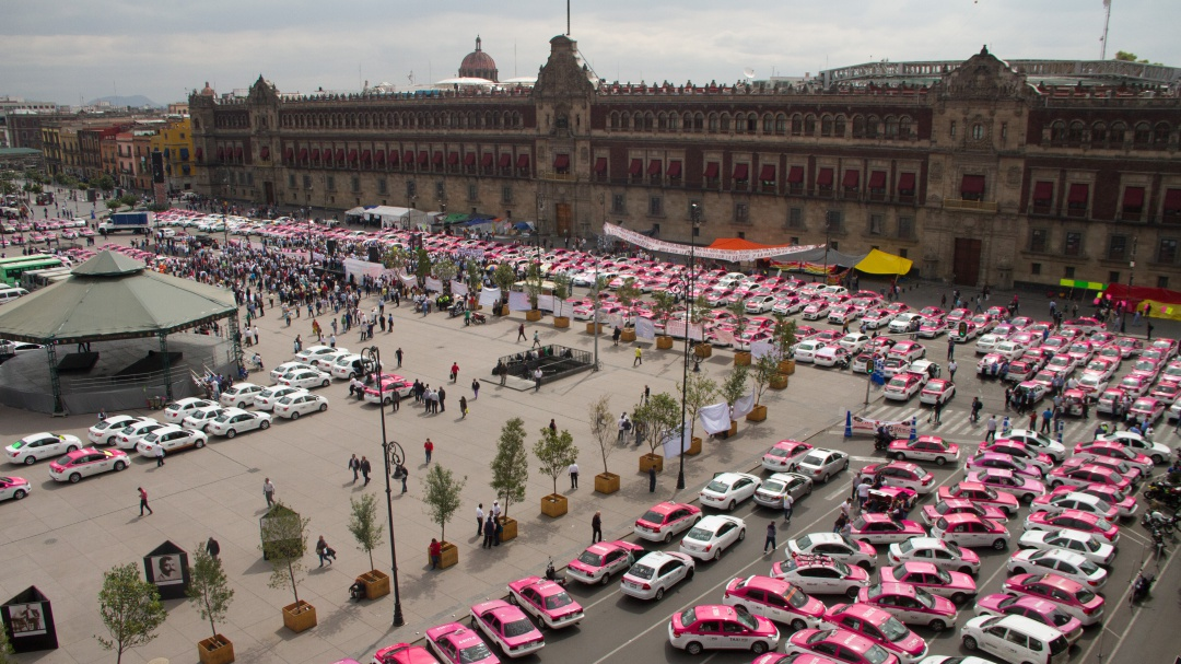 La protesta de los taxis no era necesaria: Sheinbaum