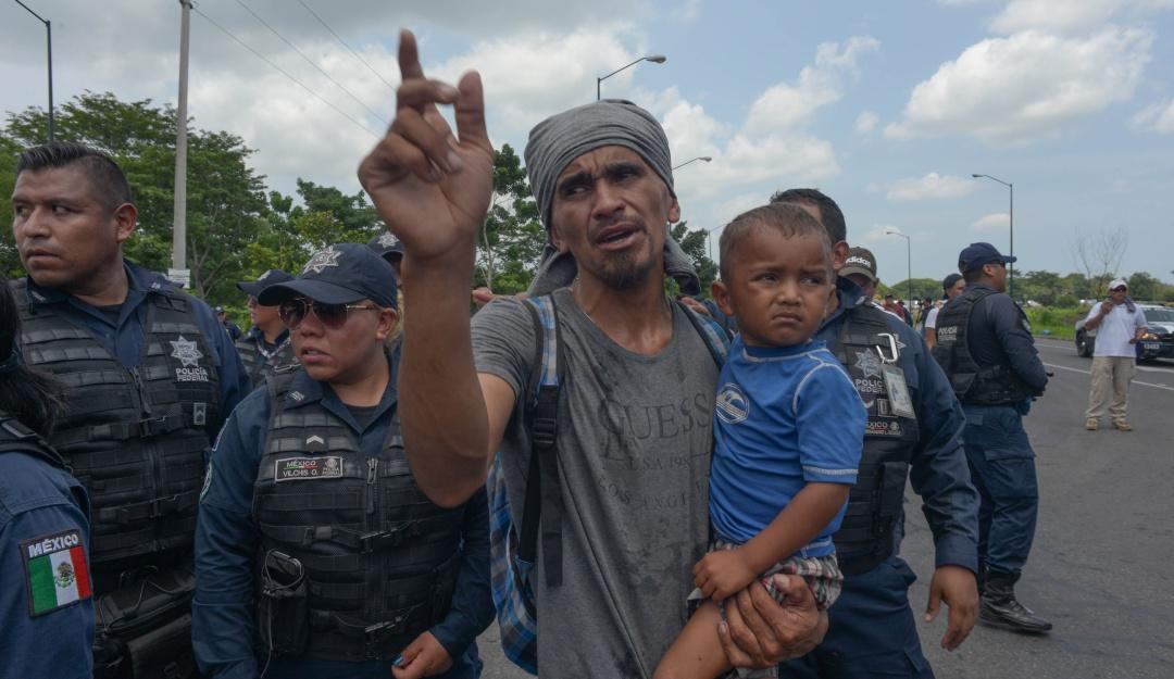 México ofreció enviar a la Guardia Nacional a la frontera sur: WP