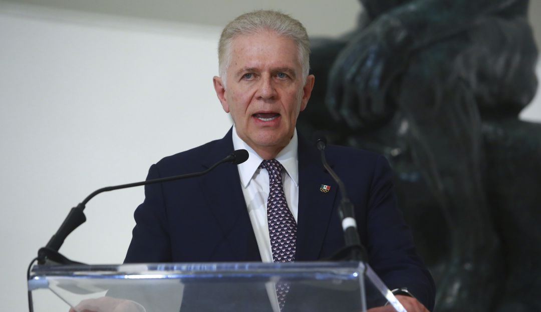 Carlos Padilla, Presidente del COM.