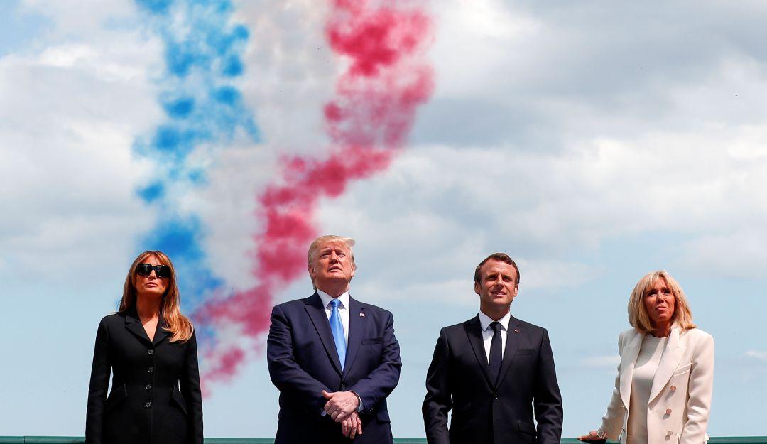 Se marchitó el árbol de la amistad que sembraron Macron y Trump
