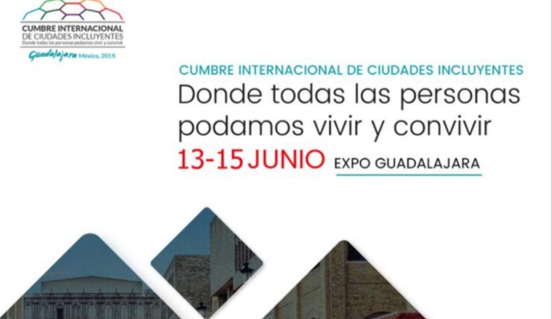 Cumbre Ciudades Incluyentes en Gdl