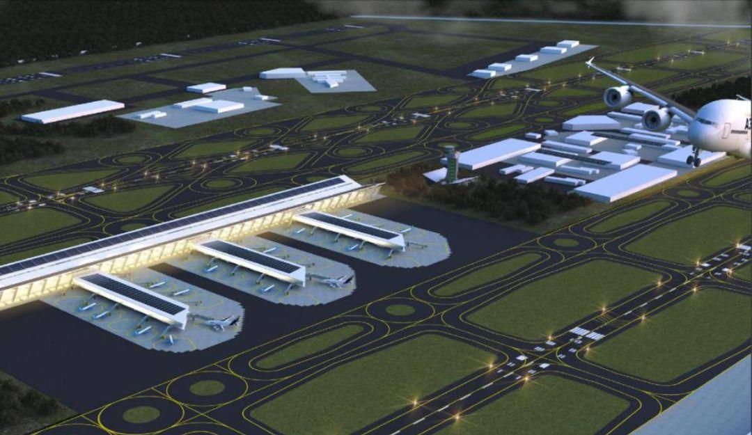 Ordena tribunal detener construcción del nuevo aeropuerto en Santa Lucía