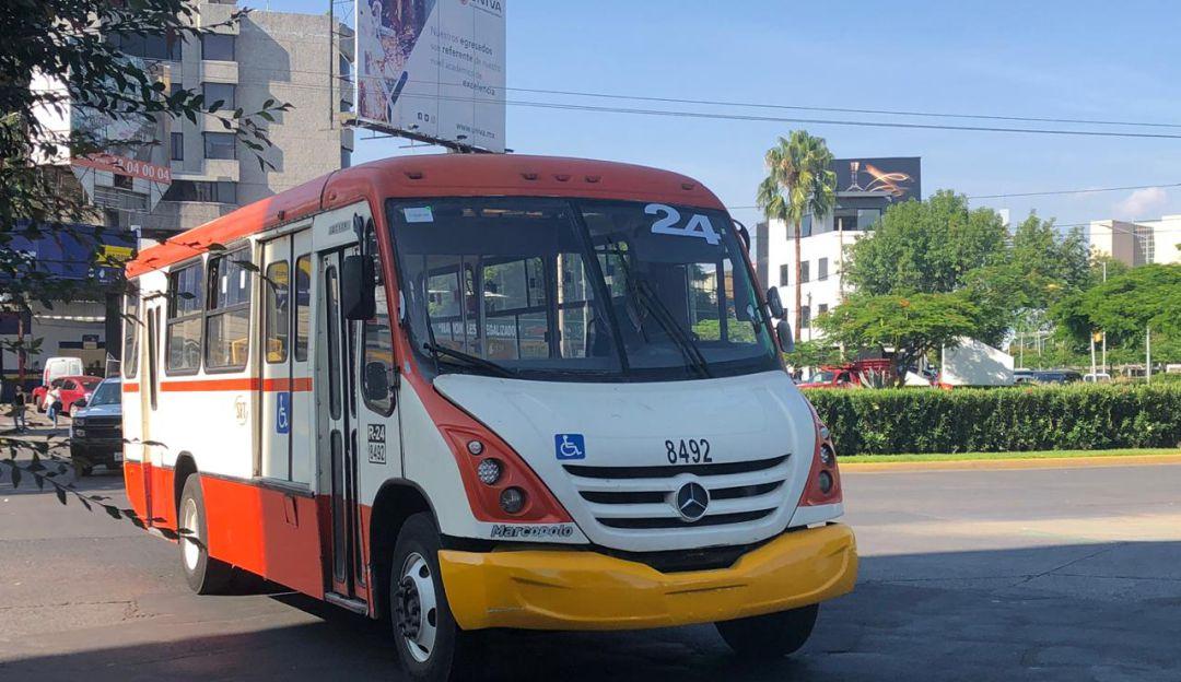 Transportistas se manifiestan en La Minerva