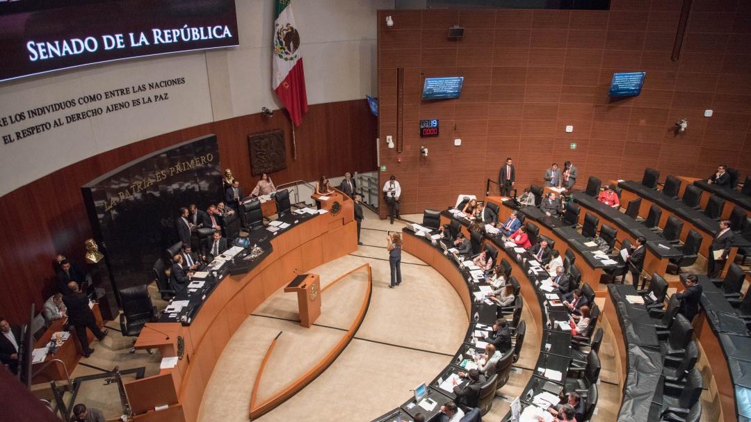 Senado abre extraordinario para T-MEC