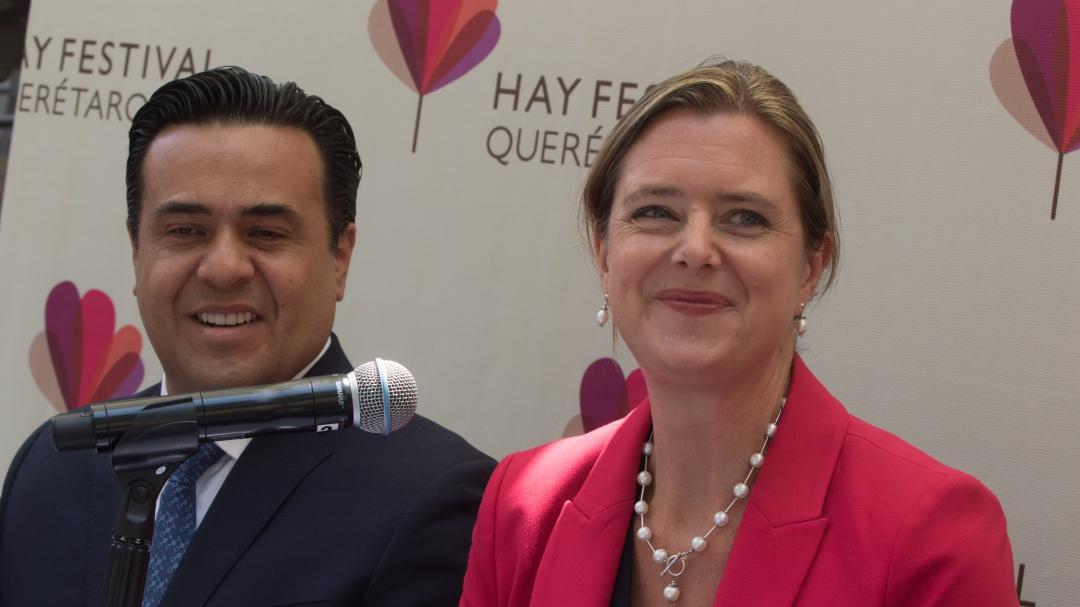"""Anuncian agenda de actividades del """"Hay Festival Querétaro"""" cuarta edición"""