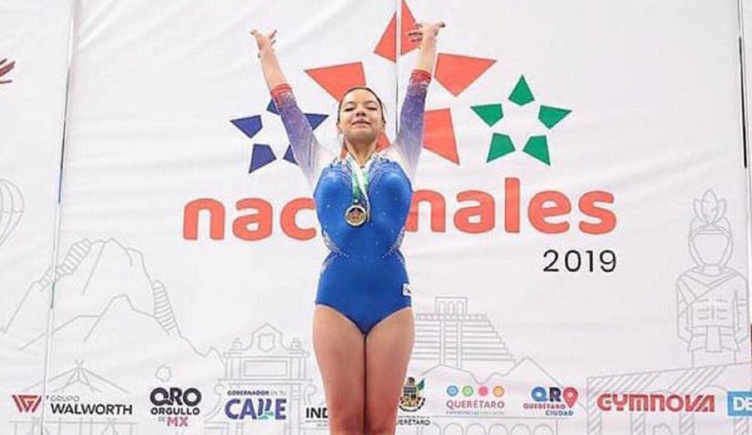 Tiembla Alexa; Andrea Armendia gana oros en competencia nacional