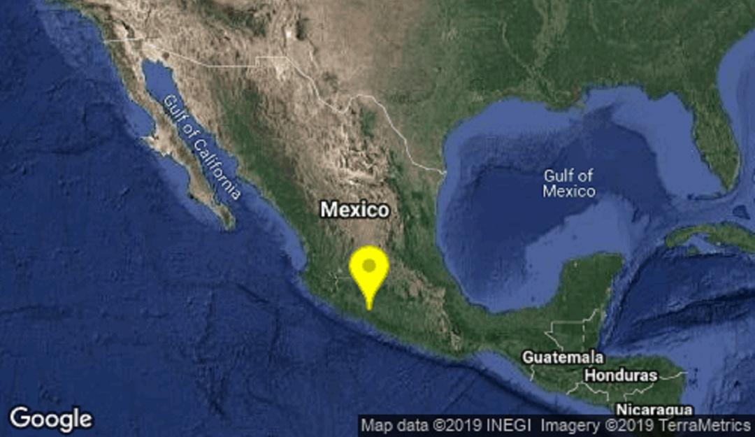 Se registra sismo en Nueva Italia, Michoacán de magnitud 5.1