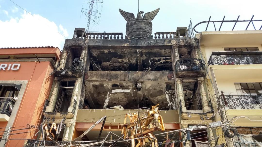 Explota edificio en Tepatitlán