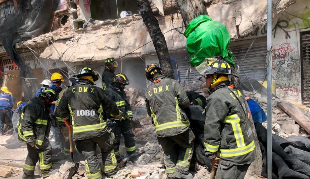 Edificio se derrumba en Tlalpan
