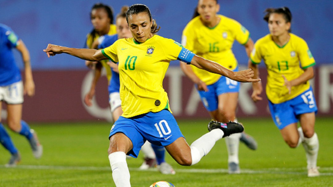Hace historia; Marta Vieira máxima goleadora en la Copa del Mundo