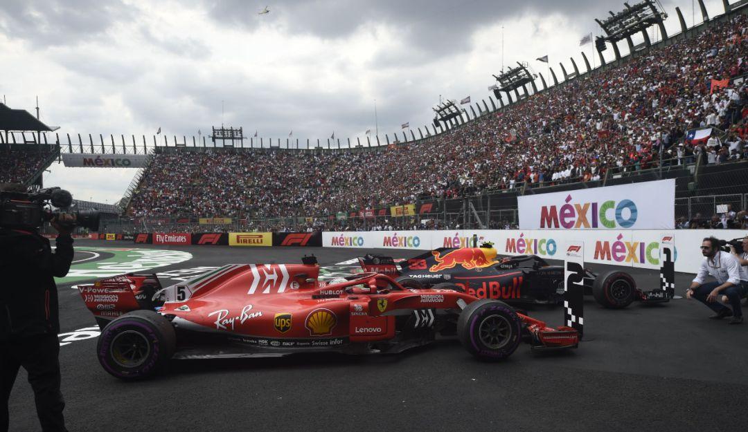 La F1 podría irse de México.
