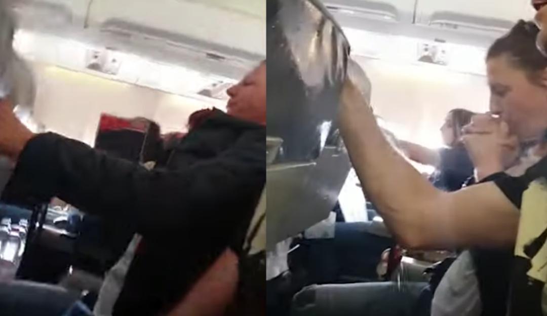 Pasajeros de un avión entran en pánico tras pasar por turbulencia extrema