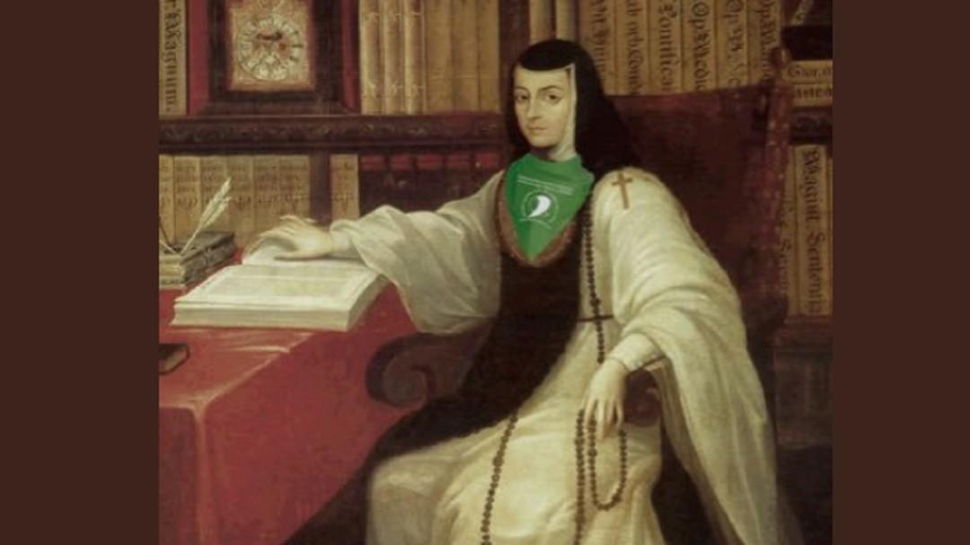 Así sería Sor Juana si tuviera twitter