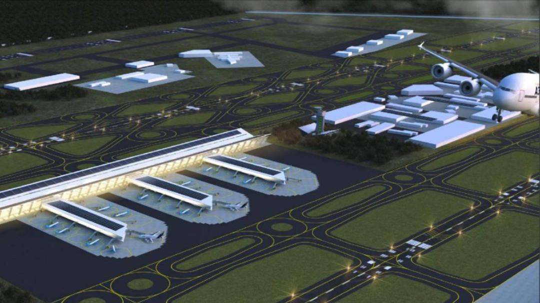 Juez niega amparo contra la construcción del aeropuerto en Santa Lucía
