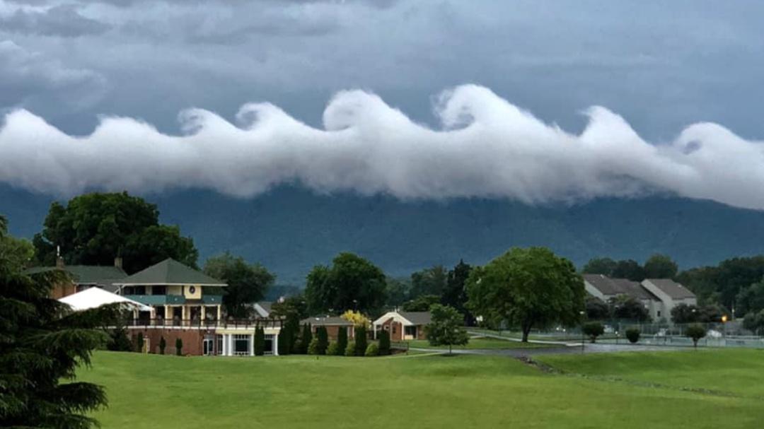 Impactan extrañas nubes en forma de olas