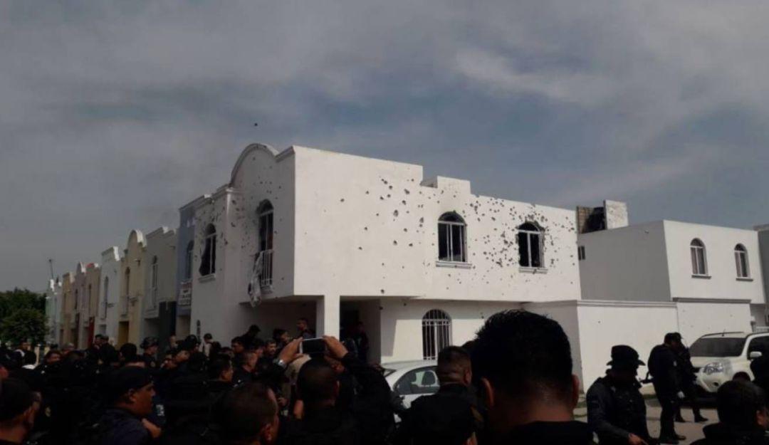 Balaceras en Jalisco fueron por amenazas a corporaciones de seguridad