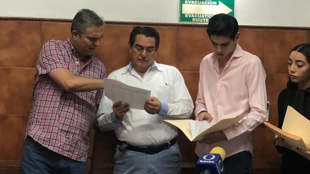 Morena reitera denuncias contra funcionarios de Guadalajara