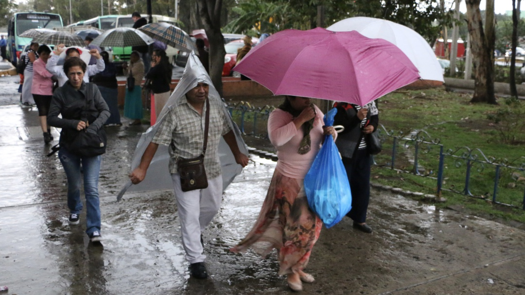 No guardes el paraguas; se pronostican lluvias fuertes en la CDMX