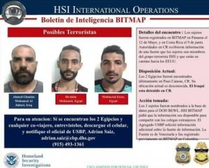EU alerta por posibles movimientos de terroristas de ISIS en México