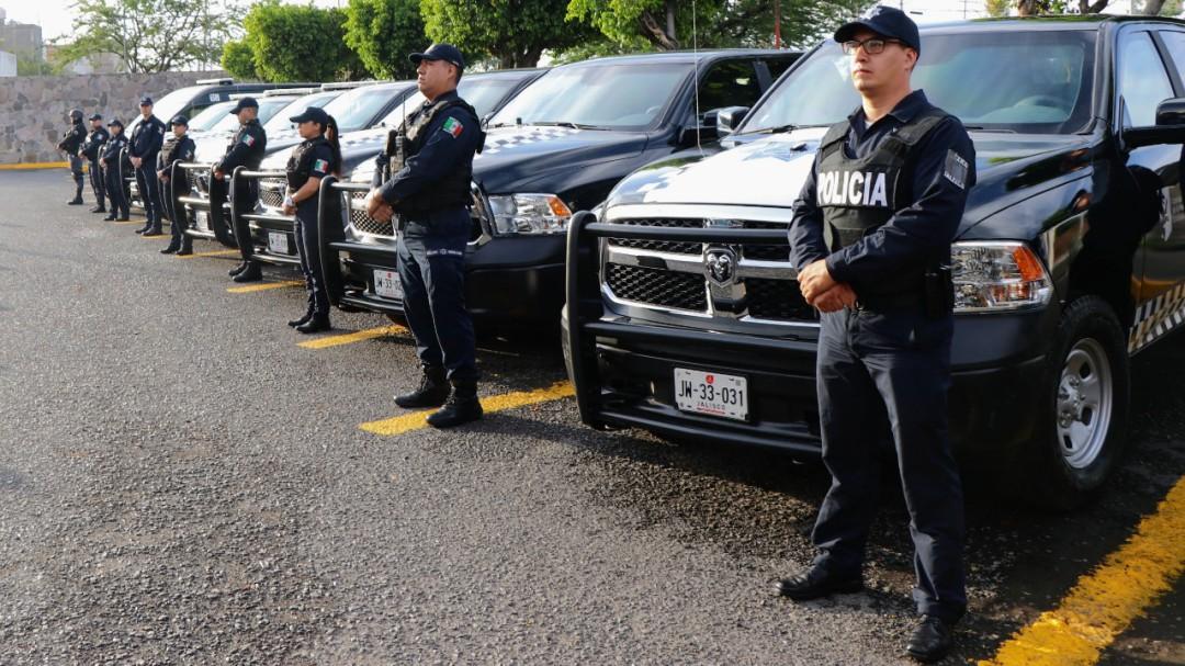 Llegan patrullas blindadas a Guadalajara