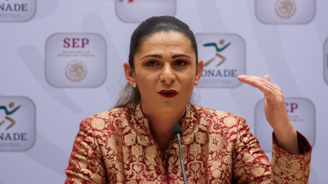 Diputados piden comparecencia de titular de Conade, Ana Gabriela Guevara