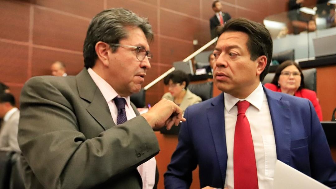 """Monreal: Mario Delgado """"peso completo"""" para Morena"""