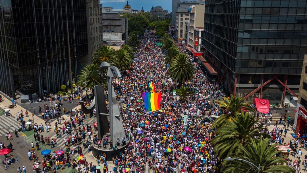 Celebran en México 41 años de la marcha LGBT