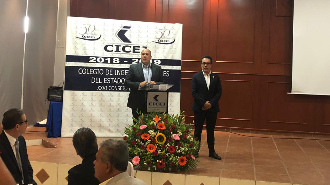 Anuncia Enrique Alfaro licitación millonaria para obras públicas