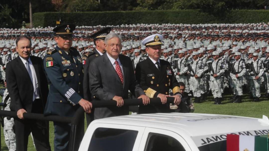 López Obrador pone en marcha la Guardia Nacional