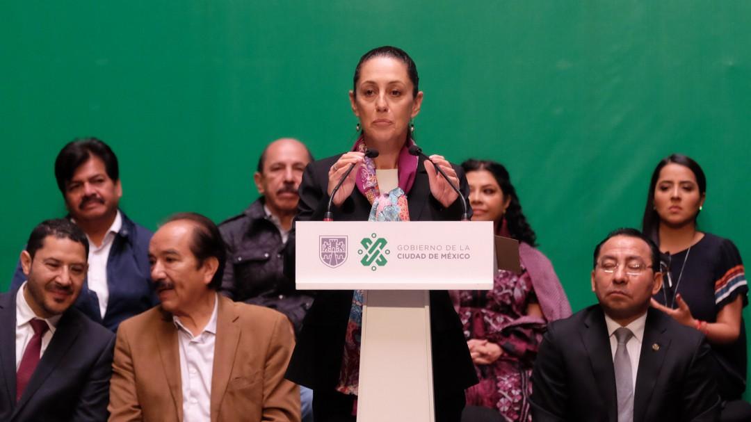 Sheinbaum anuncia Plan de Seguridad para la CDMX