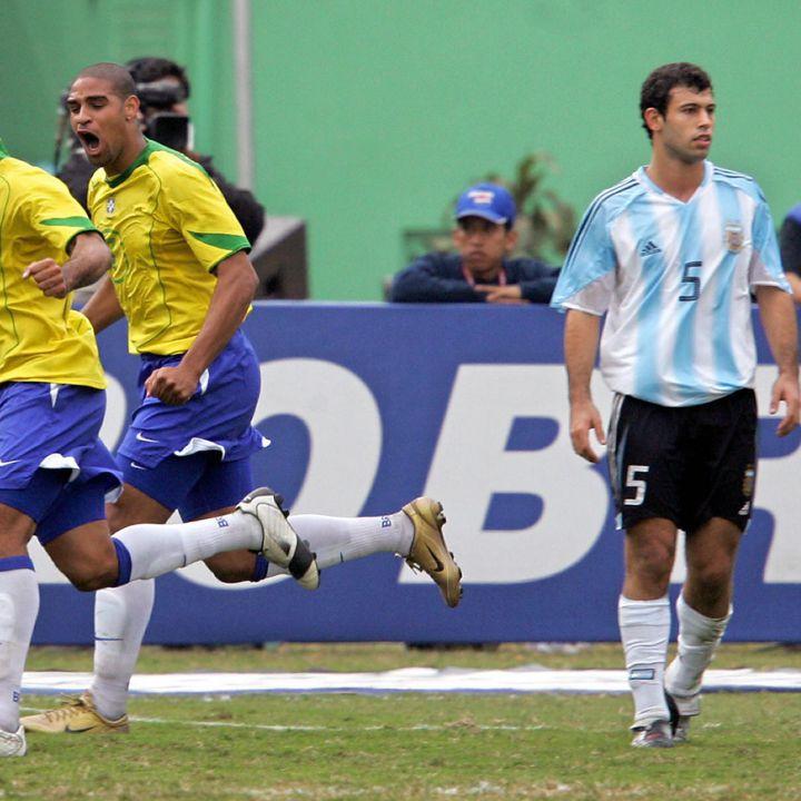 26 años de la última victoria de Argentina sobre Brasil en Copa América