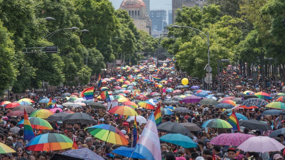 Crónica de la marcha LGBT+