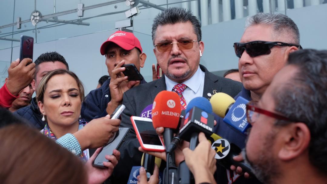 Represento a mil federales: Ignacio Benavente