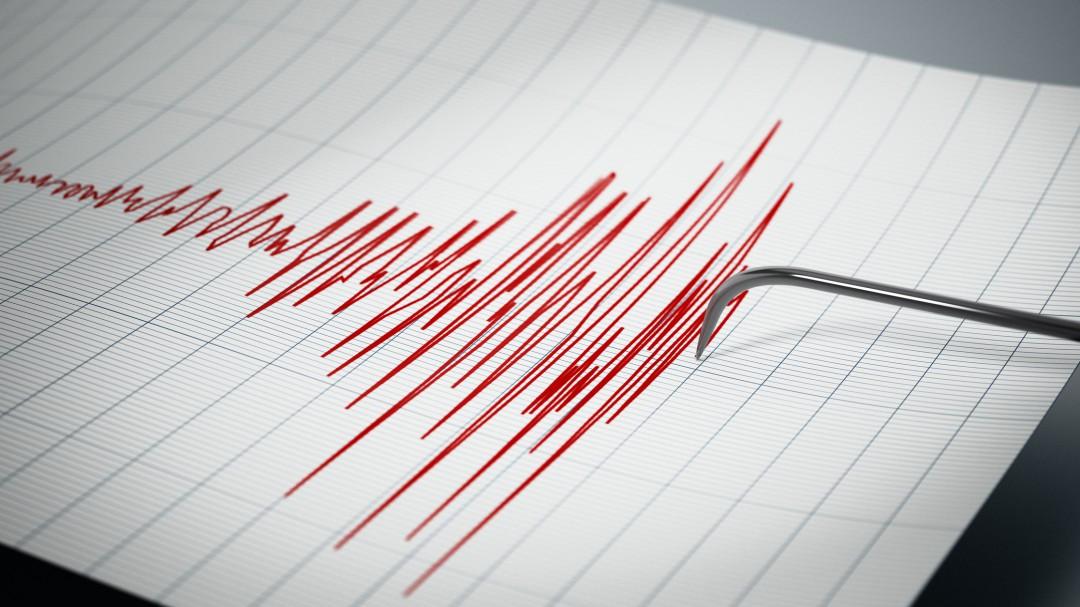 Así se vio el sismo en California
