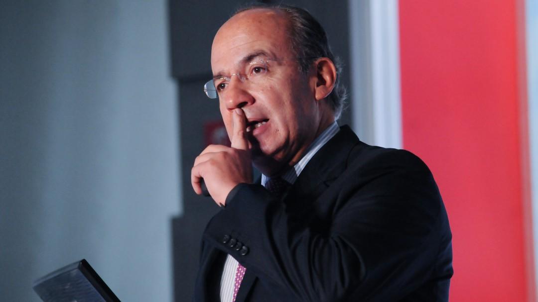 Durazo está desesperado porque sabe que la regó: Felipe Calderón