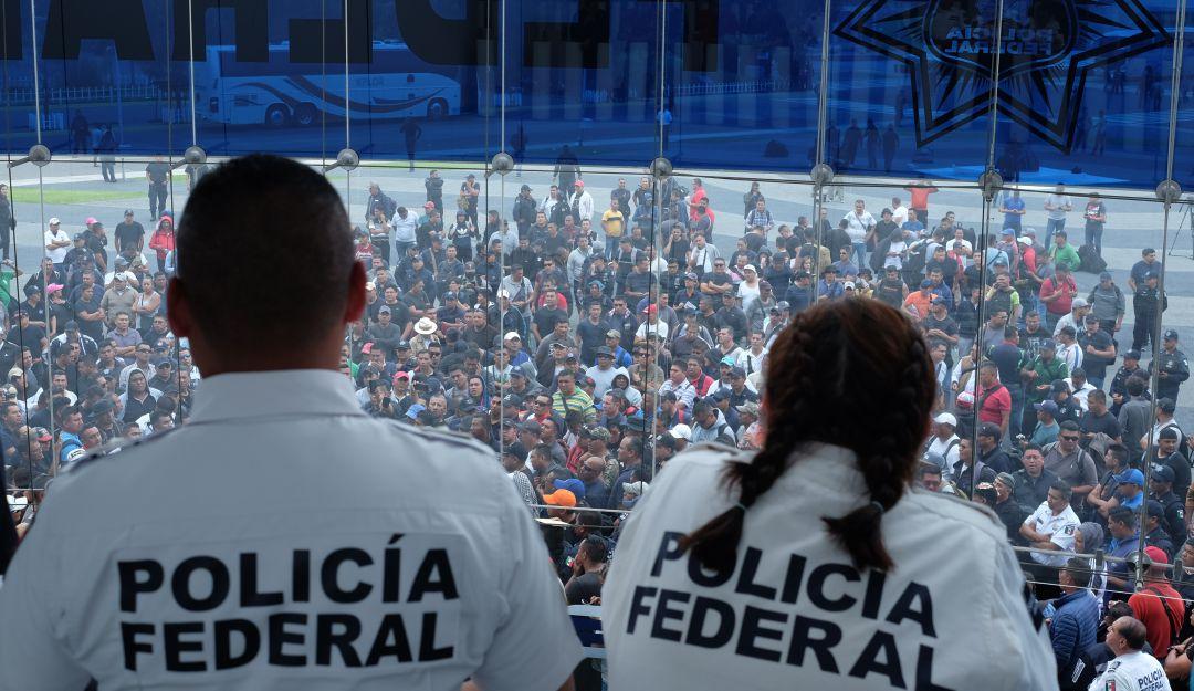 Exigen policías federales a AMLO y SSPC se retracten de falsas acusaciones