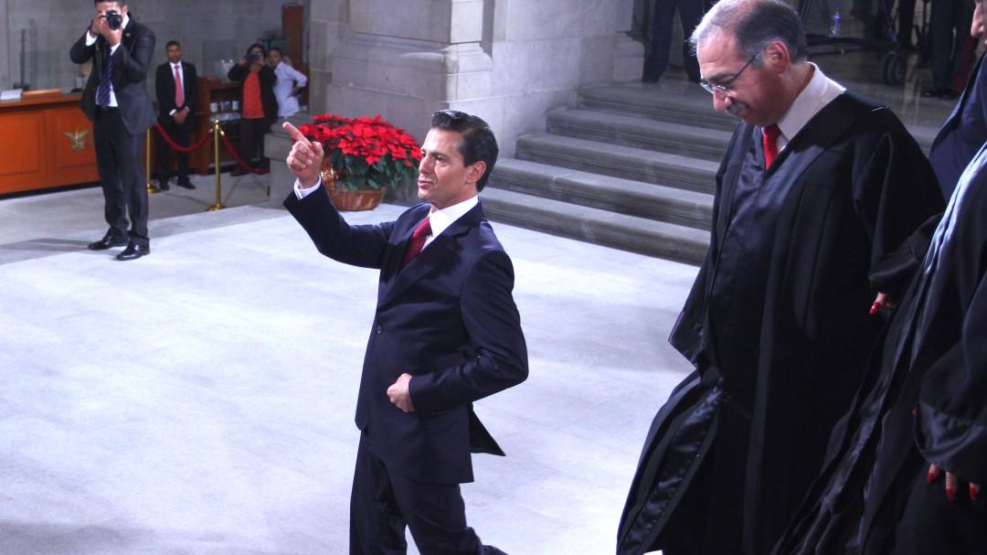 Suprema Corte de Justicia protege a Peña Nieto: Javier Coello