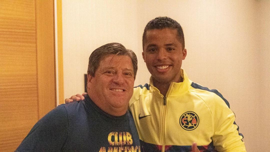 Giovani Dos Santos ya entrena con el América